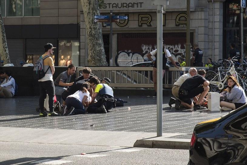 W zamachu w Barcelonie zginęło 13 osób /AFP