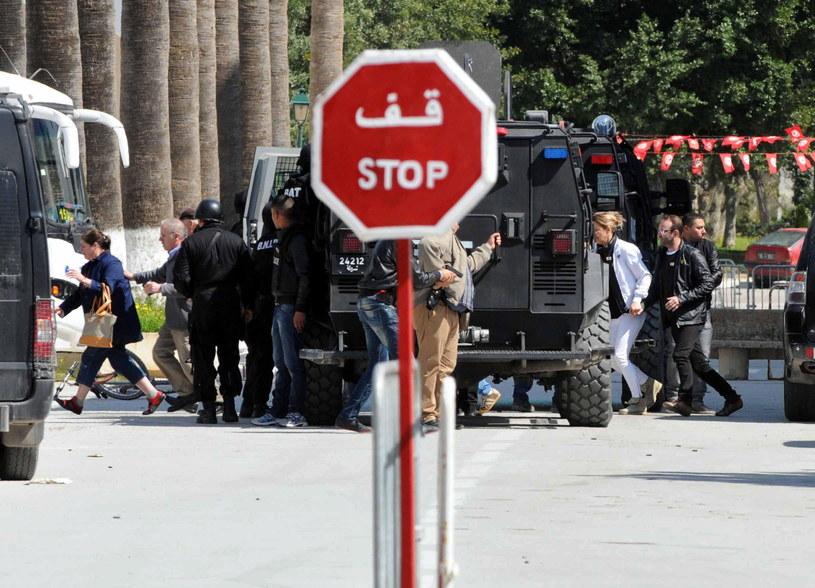 W zamachu zginęło ponad 20 osób /PAP/EPA