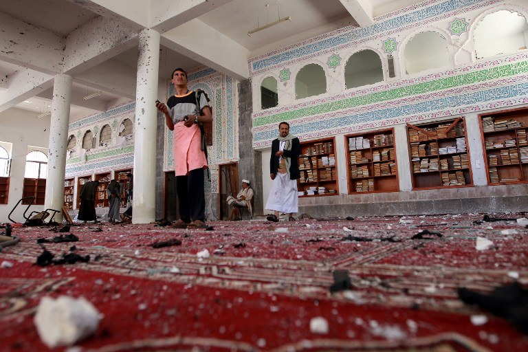 W zamachu zginęły co najmniej 142 osoby, setki są ranne /MOHAMMED HUWAIS / AFP /AFP