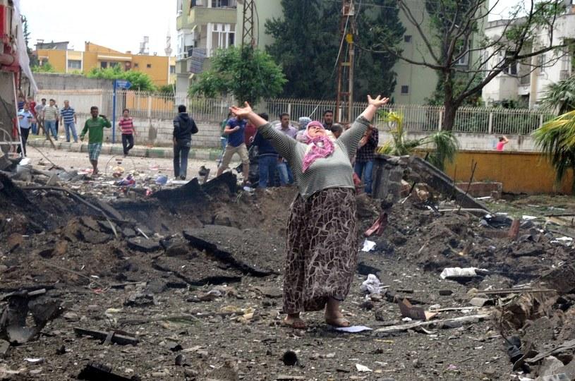 W zamachu zginęły co najmniej 43 osoby /PAP/EPA