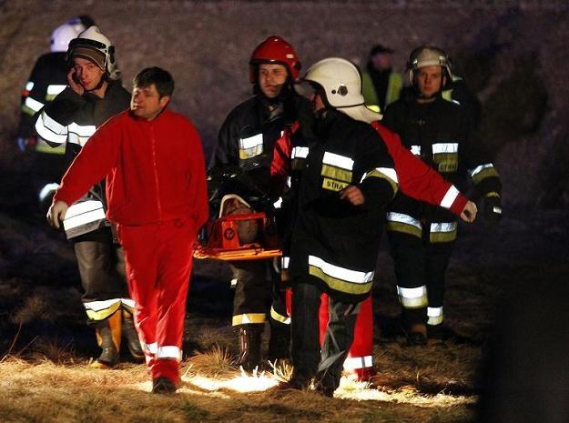 W zderzeniu dwóch pociągów rannych zostało 57 osób / fot. Andrzej Grygiel /PAP