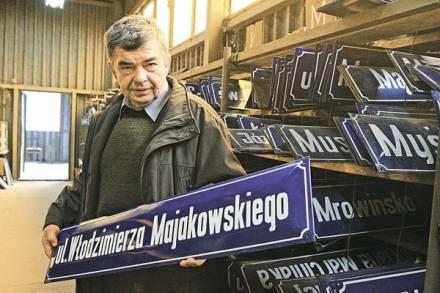 W ZDM jest jednostka, która zajmuje się wymianą zniszczonych znaków / fot. M. Zakrzewski /EchoMiasta_Poznań