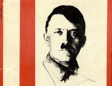 """W zeszłym roku inny egzemplarz """"Mein Kampf"""" z autografem Hitlera został sprzedany za blisko 65 tys. dolarów /natedsanders.com /INTERIA.PL"""