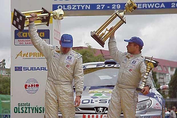 W zeszłym roku Rajd Kormoran wygrał Leszek Kuzaj (kliknij) /INTERIA.PL