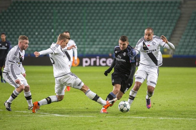 W zeszłym sezonie Legia awansowała do LM, gdzie grała przeciwko Realowi Madryt /East News