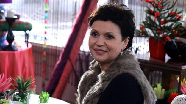W zeszłym tygodniu spotkałem się na planie z Małgorzatą Pieńkowską, czyli serialową Marią (na zdjęciu). Janek, którego gram, tak ją adorował, że zastanawiam się, czy niedługo nie będą ze sobą sypiać (śmiech) - mówi Jacek Lenartowicz. /MTL Maxfilm