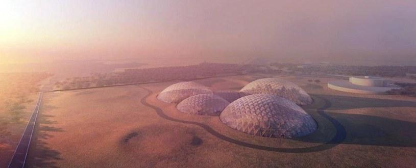 W Zjednoczonych Emiratach Arabskich powstaje marsjańskie miasto /materiały prasowe