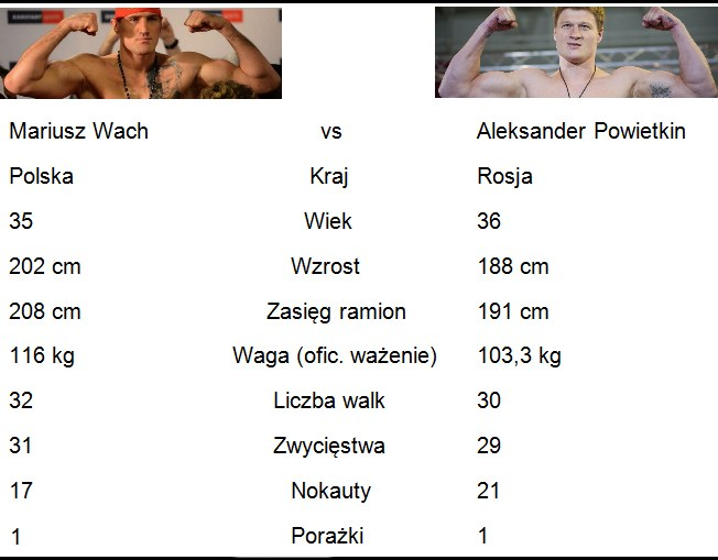 Wach vs Powietkin /INTERIA.PL