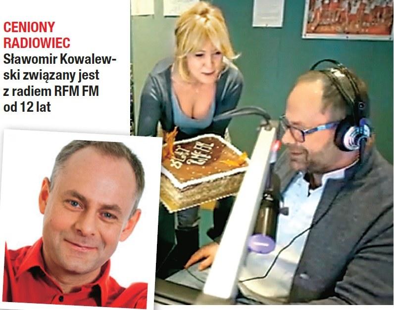 Wachowicz jest częstym gościem w siedzibie radia! /- /Na żywo