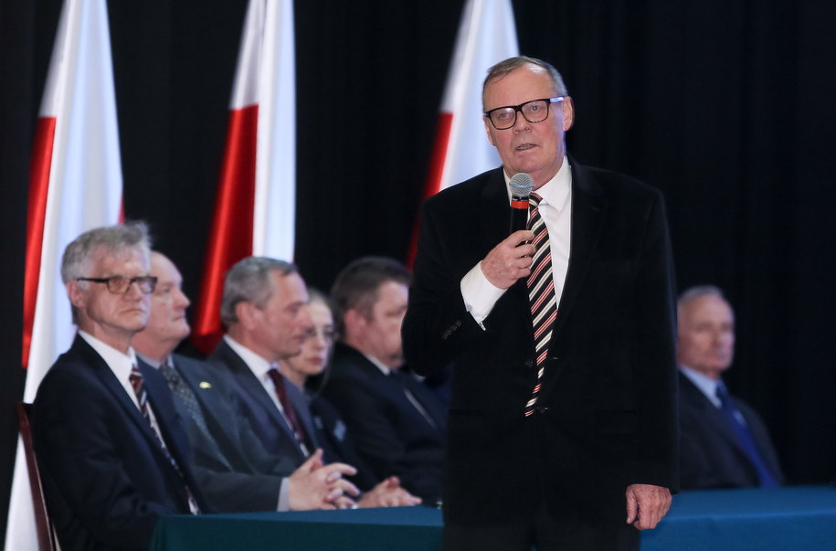 Wacław Berczyński (C) /Paweł Supernak /PAP