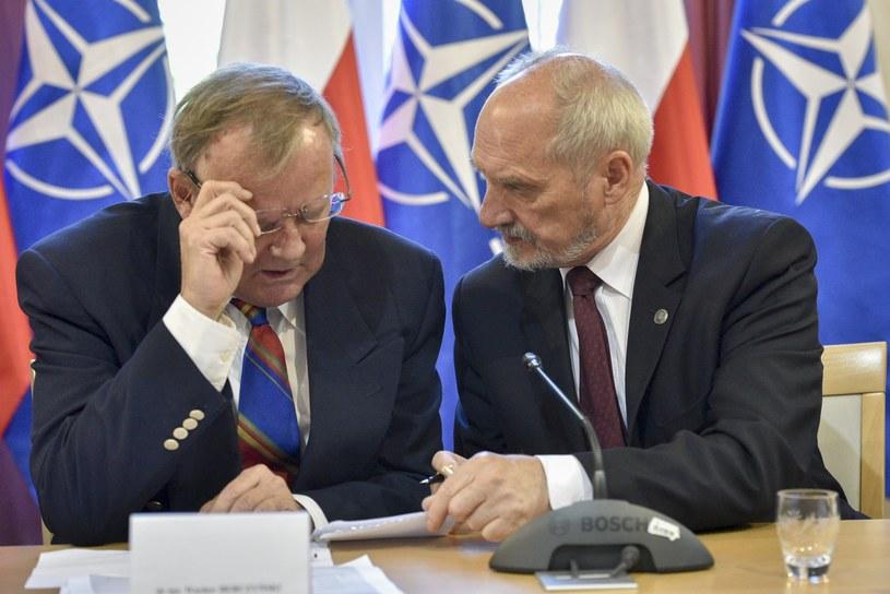 Wacław Berczyński i Antoni Macierewicz /Jacek Domiński /Reporter