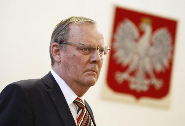 Wacław Berczyński, szef komisji badającej przyczyny katastrofy smoleńskiej /Stefan Maszewski /East News