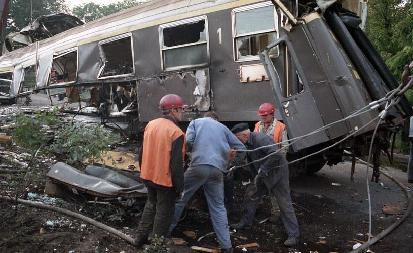 Wagon pierwszej klasy jechał jako ostatni, ponieważ do składu pociągu przyłączono go w Opolu /Fot. Jerzy Kosnik /Agencja FORUM