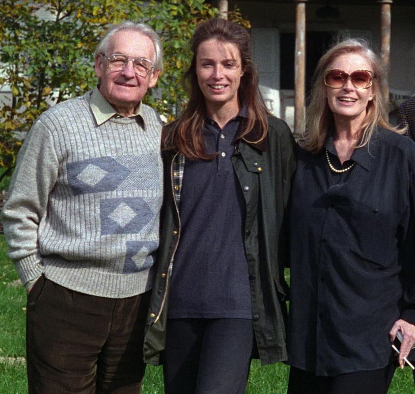 Wajda i Tyszkiewicz z córką Karoliną /- /East News