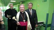 Wakacje arcybiskupa na kombajnie