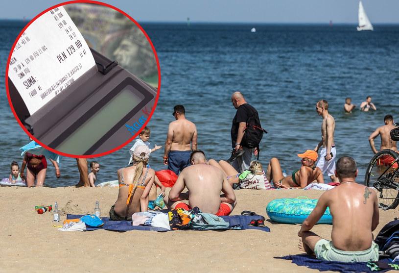 Wakacje nad Bałtykiem będą w tym roku wyjątkowo drogie... /KAROLINA MISZTAL/REPORTER /East News