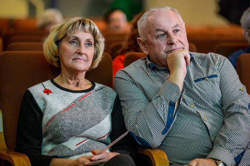 """Wala i Lesław z """"Sanatorium miłości"""", fot. Piotr Matey/TVP /East News"""