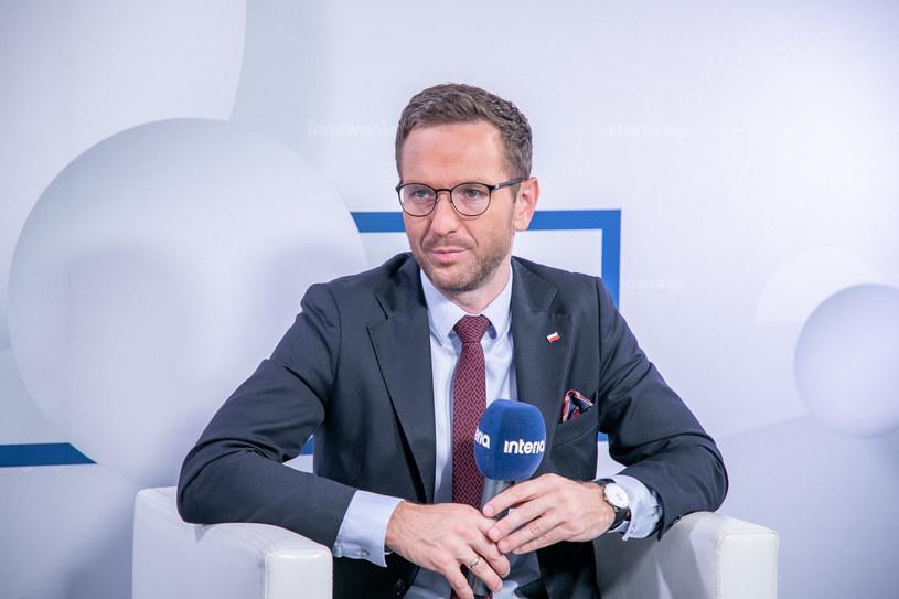 Waldemar Buda, wiceminister funduszy i polityki regionalnej. /Fot. Ireneusz Rek /INTERIA.PL