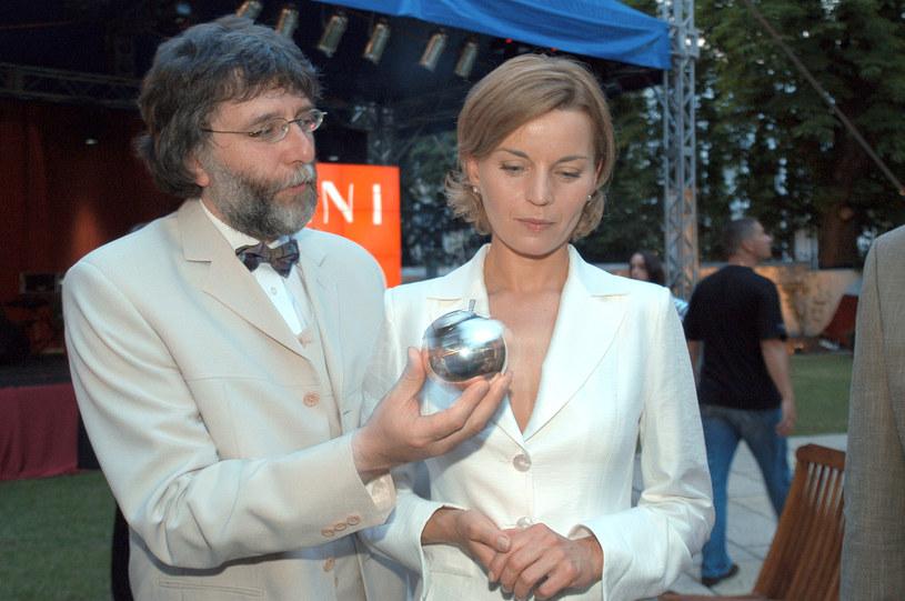 Waldemar Dziki i Małgorzata Foremniak, 2003 rok /Prończyk /AKPA