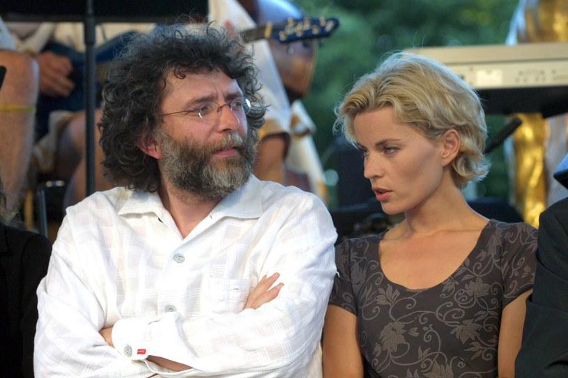 Waldemar Dziki z drugą żoną, Małgorzatą Foremniak /Studio69 /Agencja FORUM