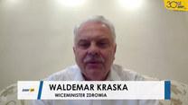 Waldemar Kraska o tymczasowym szpitalu na Narodowym: Mam nadzieję, że nie będzie służył, ale będzie w gotowości