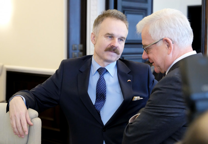 Waldemar Paruch i Jacek Czaputowicz /Mateusz Grochocki /East News