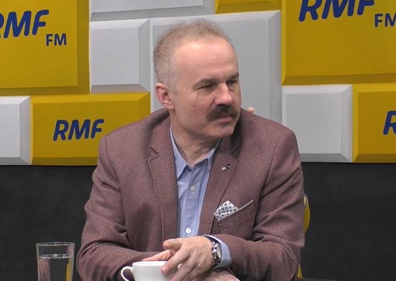Waldemar Paruch w RMF FM /RMF