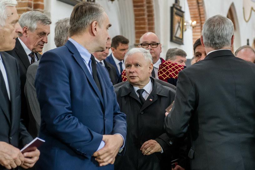 Waldemar Pawlak i Jarosław Kaczyński (arch.) /Mateusz Ochocki/KFP /Reporter