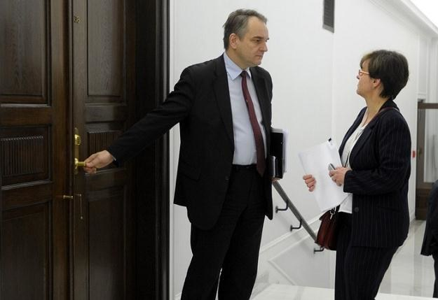 Waldemar Pawlak i Joanna Kluzik-Rostkowska / fot. D. Brykczyński /Reporter