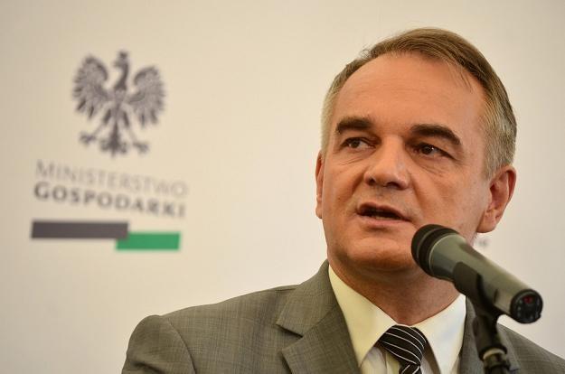 Waldemar Pawlak, minister gospodarki. Fot. MARIUSZ GACZYŃSKI /Agencja SE/East News