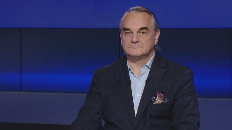 """Waldemar Pawlak w programie """"Prezydenci i premierzy"""" /Polsat News"""