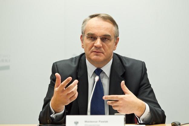 Waldemar Pawlak, wicepremier rządu RP. Fot. Jacek Waszkiewicz /Reporter