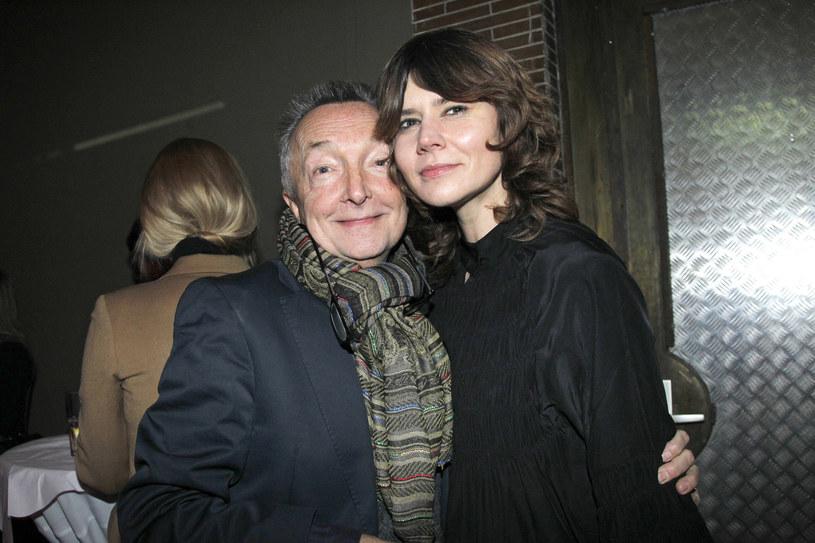 Waldemar Pokromski i Małgorzata Szumowska na Berlinale 2012 /AKPA