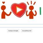 Walentynki Google Doodle - święto zakochanych