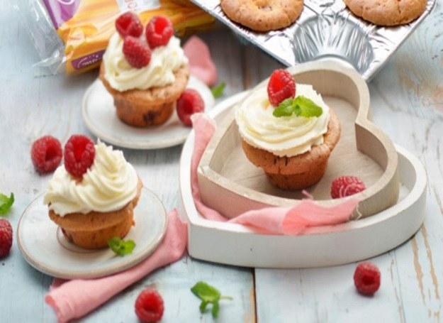 Walentynkowe muffiny - słodki deser dla dwojga! /materiały prasowe
