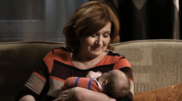 Waleria pokochała niemowlę znalezione pod drzwiami Górków. /www.barwyszczescia.tvp.pl/