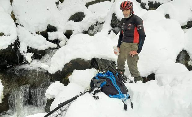 Walerian Romanowski o wyprawie rowerem do Jakucji: Wszystko jest zaplanowane. Tu nie ma miejsca na spontan