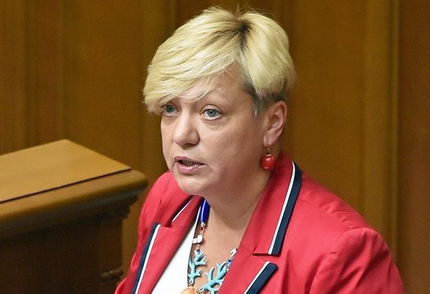 Walerija Hontariewa, b. prezes Banku Centralnego Ukrainy /AFP