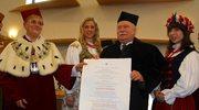 Wałęsa doktorem honoris causa Uniwersytetu Opolskiego