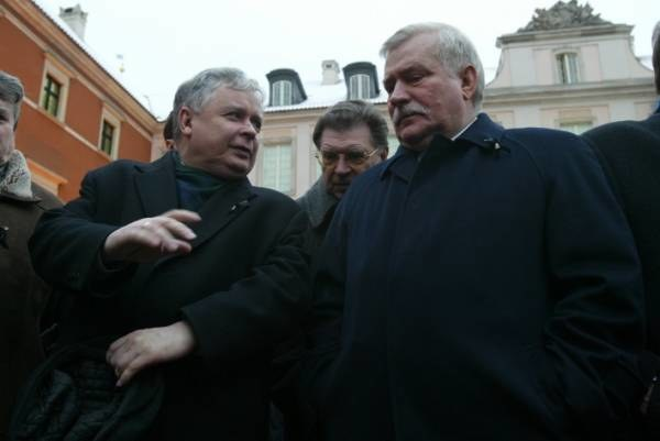 """Wałęsa zapraszał do Belwederu """"Lecha z żoną i Jarka z mężem""""; fot. Jan Żdżarski jr /Agencja SE/East News"""