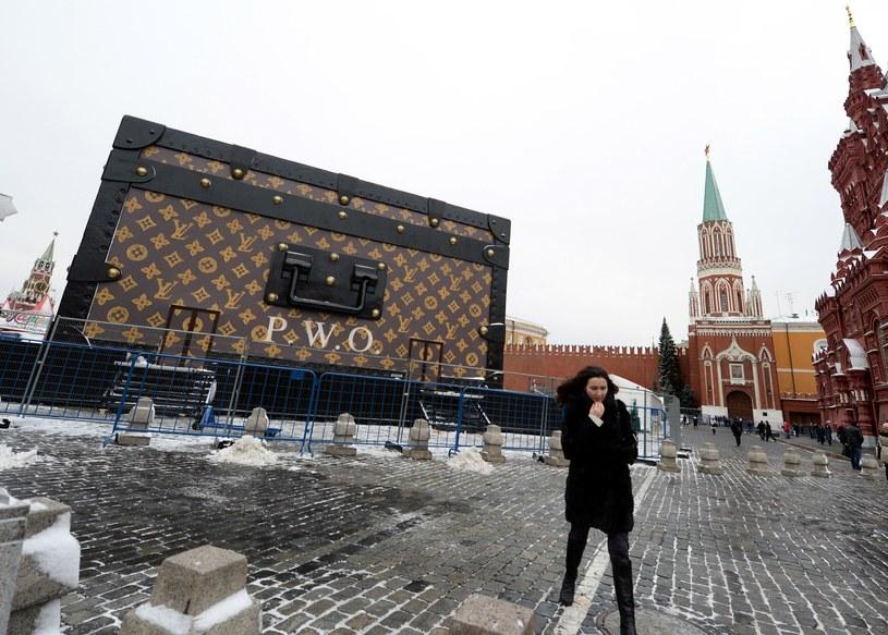 Walizka Vuitton na Placu Czerwonym /AFP