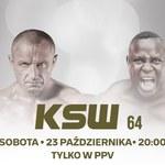 """Walka legend: """"Pudzian"""" kontra """"Bombardier"""". Gala KSW 64 w PPV w Polsat Box i Polsat Box Go"""