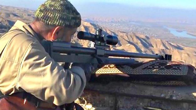Walka z ISIS to już piąty konflikt zbrojny w karierze irackiego snajpera /materiały prasowe