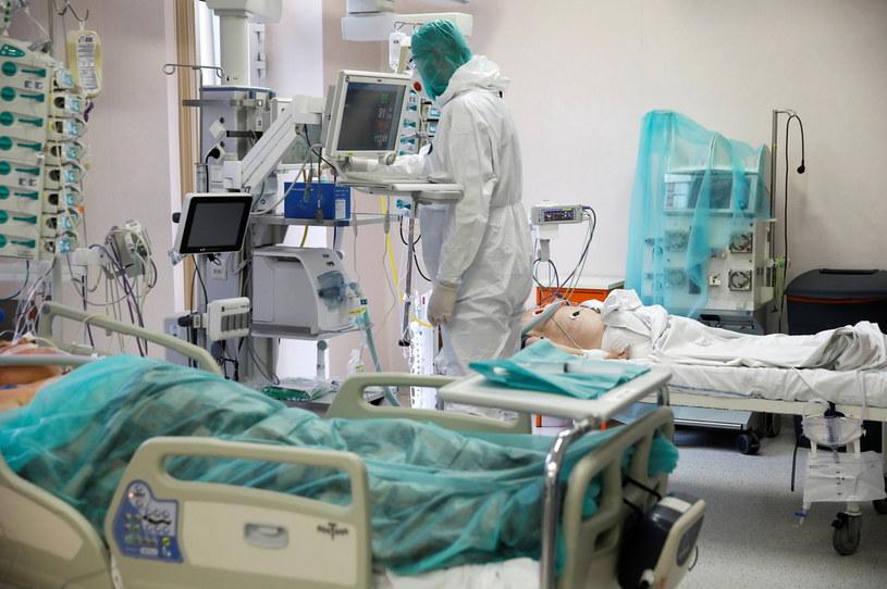 Walka z koronawirusem w polskim szpitalu /Kacper Pempel /Agencja FORUM