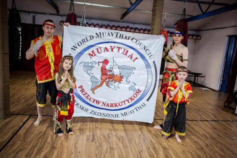 Walka z narkotykami to główna misja społeczna Muay Thai, Fot: bartcaban.pl /INTERIA.PL