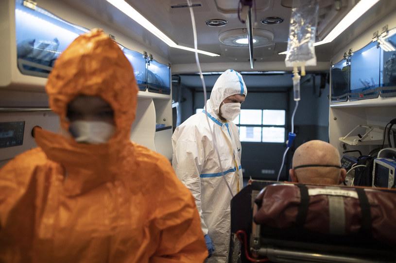 Walka z trzecią falą epidemii koronawirusa; zdj. ilustracyjne /Jacek Szydłowski /Agencja FORUM