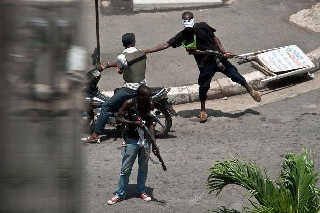 Walki na ulicach Abidżanu /AFP