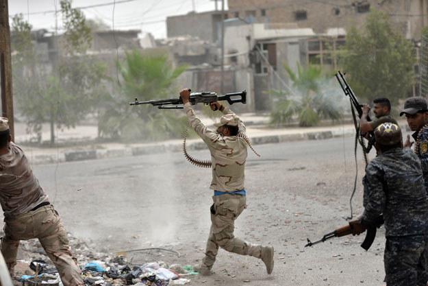 Walki na ulicach Faludży /AFP