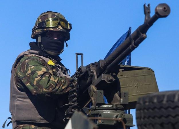 Walki na wschodzie Ukrainy trwają /KONSTANTIN GRISHIN (PAP/EPA) /PAP/EPA