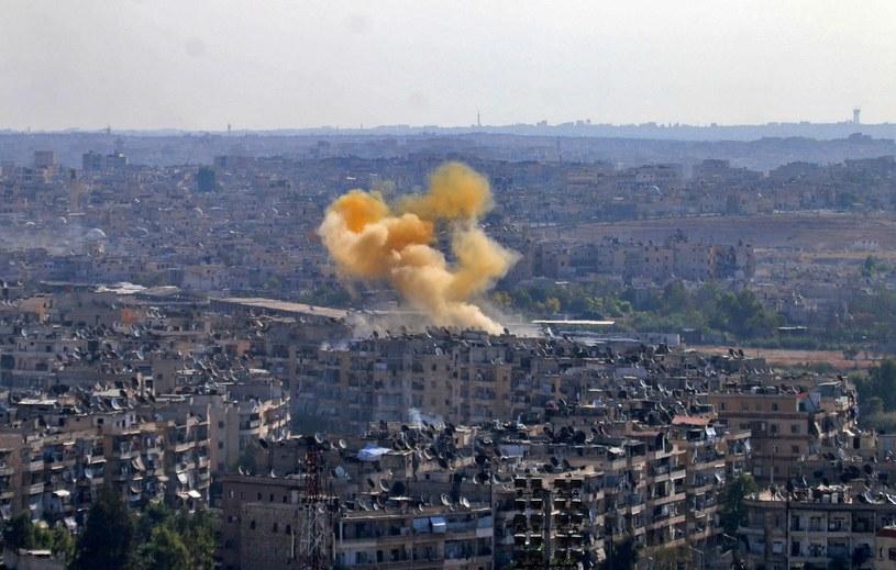 Walki o Aleppo /AFP